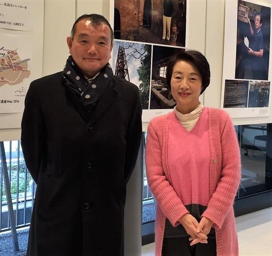 黒川まさる 横浜にこだわる 小説家の山崎洋子さんと