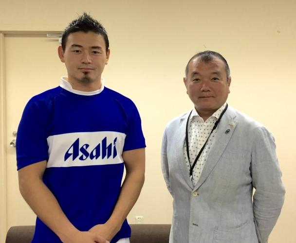 黒川まさる 五郎丸歩選手とは 子供達のラグビー教室で