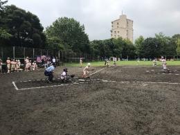 能見台中央公園のグラウンドの再整備